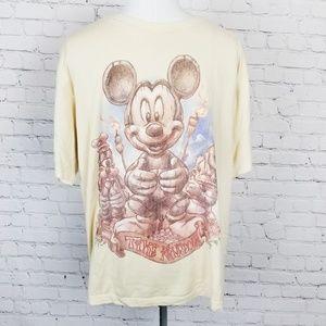 Disney|Mickey Mouse Tiki Kingdom Graphic Tee